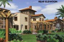 Home Plan - Mediterranean Exterior - Other Elevation Plan #48-361