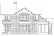 Craftsman Style House Plan - 6 Beds 3.5 Baths 3254 Sq/Ft Plan #48-345 Exterior - Rear Elevation
