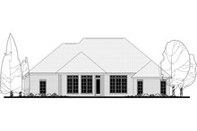 Dream House Plan - European Exterior - Rear Elevation Plan #430-129