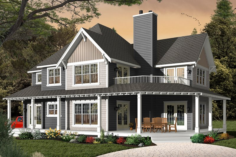 Traditional Exterior - Front Elevation Plan #23-2510