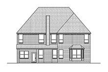 Home Plan - European Exterior - Rear Elevation Plan #84-466