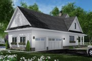 Farmhouse Style House Plan - 3 Beds 3.5 Baths 2570 Sq/Ft Plan #51-1150 Exterior - Other Elevation