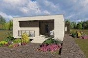 Modern Style House Plan - 3 Beds 2 Baths 1418 Sq/Ft Plan #549-4