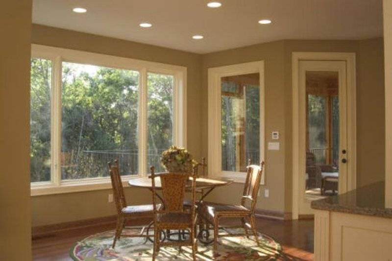 Dinette photo of Craftsman style home
