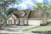 Traditional Style House Plan - 3 Beds 2.5 Baths 1697 Sq/Ft Plan #17-285 Exterior - Other Elevation