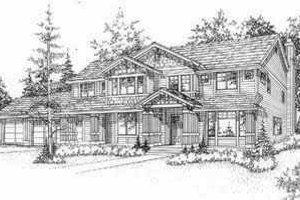 Bungalow Exterior - Front Elevation Plan #78-128