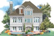 European Style House Plan - 3 Beds 2.5 Baths 2349 Sq/Ft Plan #930-129 Exterior - Rear Elevation