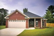 Traditional Style House Plan - 3 Beds 2 Baths 1504 Sq/Ft Plan #17-191 Photo