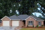 Traditional Style House Plan - 4 Beds 2 Baths 1750 Sq/Ft Plan #430-57 Exterior - Other Elevation