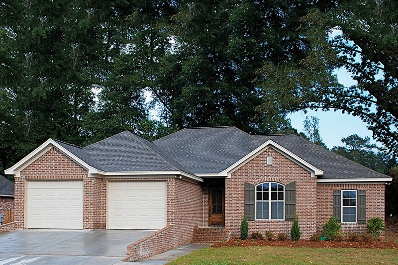 Dream House Plan - Traditional Exterior - Other Elevation Plan #430-57