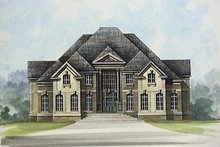 House Design - European Exterior - Front Elevation Plan #119-239