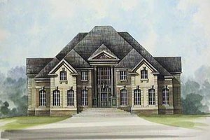 House Design - European Exterior - Front Elevation Plan #119-239