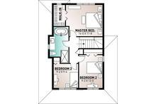 Country Floor Plan - Upper Floor Plan Plan #23-2119
