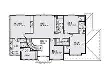 Craftsman Floor Plan - Upper Floor Plan Plan #1066-20