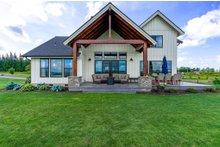 House Plan Design - Farmhouse Exterior - Rear Elevation Plan #1070-104
