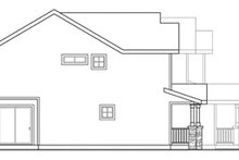Dream House Plan - Exterior - Other Elevation Plan #124-814