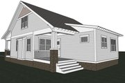 Craftsman Style House Plan - 3 Beds 2.5 Baths 1932 Sq/Ft Plan #461-18 Exterior - Rear Elevation