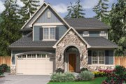 Traditional Style House Plan - 3 Beds 2.5 Baths 1988 Sq/Ft Plan #48-522