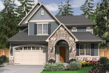 Traditional Exterior - Front Elevation Plan #48-522
