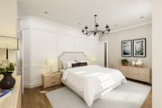 Craftsman Style House Plan - 1 Beds 1.5 Baths 1062 Sq/Ft Plan #45-588 Interior - Master Bedroom