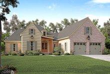 Dream House Plan - European Exterior - Front Elevation Plan #430-131