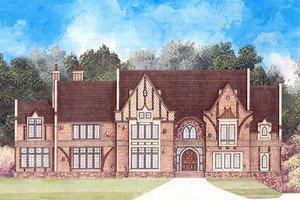 Architectural House Design - European Exterior - Front Elevation Plan #119-301