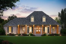 Dream House Plan - Farmhouse Exterior - Front Elevation Plan #1074-18