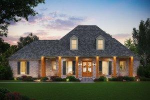 Farmhouse Exterior - Front Elevation Plan #1074-18