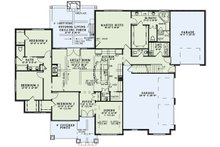 European Floor Plan - Main Floor Plan Plan #17-2560