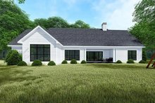 House Design - Traditional Exterior - Rear Elevation Plan #923-150