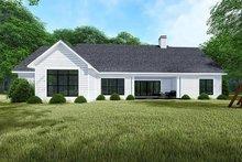 House Plan Design - Traditional Exterior - Rear Elevation Plan #923-150