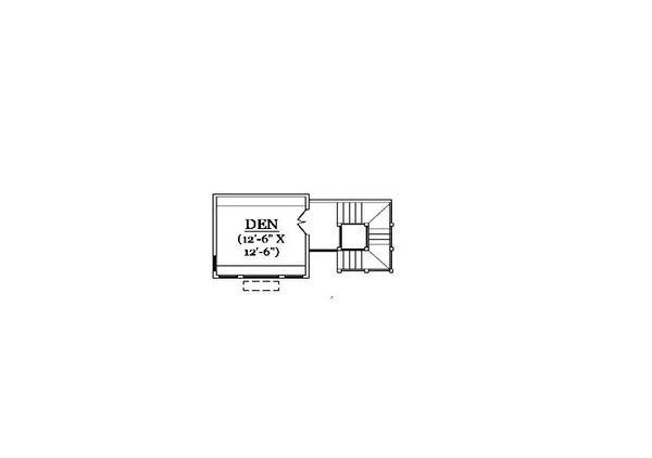 Craftsman Floor Plan - Upper Floor Plan Plan #5-371