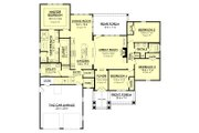 Country Style House Plan - 4 Beds 2.5 Baths 2329 Sq/Ft Plan #430-151 Floor Plan - Main Floor Plan