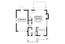 Cottage Floor Plan - Main Floor Plan Plan #48-1010