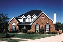 Dream House Plan - Traditional Photo Plan #57-205