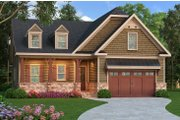 Craftsman Style House Plan - 3 Beds 2 Baths 2110 Sq/Ft Plan #419-253 Exterior - Front Elevation