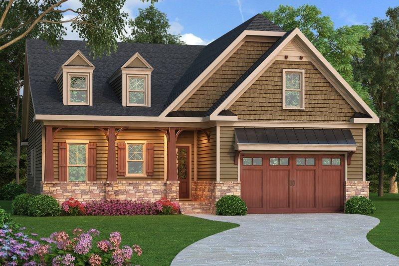 Craftsman Style House Plan - 3 Beds 2 Baths 2110 Sq/Ft Plan #419-253