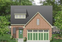 House Plan Design - European Exterior - Front Elevation Plan #84-566