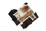 Cabin Style House Plan - 3 Beds 1 Baths 3256 Sq/Ft Plan #25-4737 Floor Plan - Upper Floor Plan
