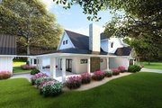 Farmhouse Style House Plan - 4 Beds 3.5 Baths 3342 Sq/Ft Plan #923-101 Exterior - Other Elevation