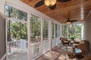 European Style House Plan - 4 Beds 3 Baths 2324 Sq/Ft Plan #929-27 Exterior - Outdoor Living