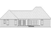Dream House Plan - European Exterior - Rear Elevation Plan #21-262