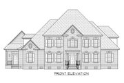 Traditional Style House Plan - 6 Beds 5.5 Baths 4513 Sq/Ft Plan #1054-58 Exterior - Front Elevation