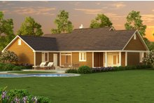 Ranch Exterior - Other Elevation Plan #18-4512