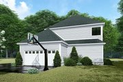 Country Style House Plan - 3 Beds 3 Baths 1872 Sq/Ft Plan #923-143 Exterior - Rear Elevation
