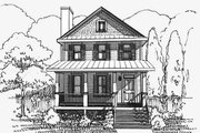 Bungalow Style House Plan - 3 Beds 2.5 Baths 1435 Sq/Ft Plan #79-261