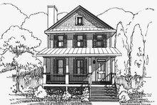 Bungalow Exterior - Front Elevation Plan #79-261