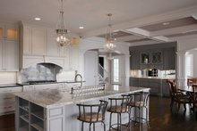 Dream House Plan - Southern Interior - Kitchen Plan #437-57