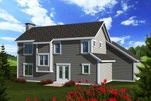 Craftsman Exterior - Rear Elevation Plan #70-1133