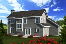 Craftsman Exterior - Rear Elevation Plan #70-1133